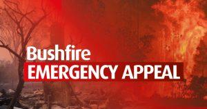 Australian bush fire Emergency Appeal