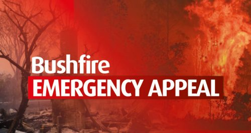Australian bush fire Emergency Appeal